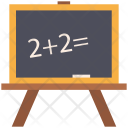 Blackboard Chalkboard Whiteboard Icon