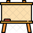 Blackboard Board Tools Education School Icon
