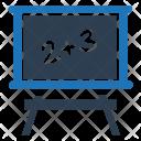 Blackboard Calculation Math Icon