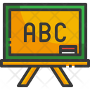 Blackboard Chalkboard Classroom Icon
