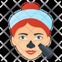 Blackheads Mask Icon