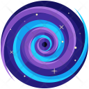 Blackhole Galaxy Space Icon