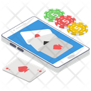 Cards Game Blackjack Gambling Icon