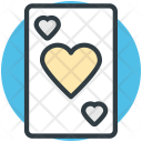 Blackjack Card Poker Icon