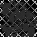 Blacksmith Medieval Anvil Icon