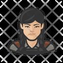 Blacksmith Asian Female Blacksmith Asian Icon