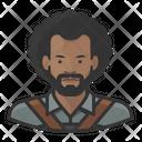Blacksmith Black Male Blacksmith Black Icon