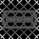 Razor Blade Edge Icon