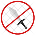Cancel Blade Sword Icon