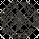 Blade Shuriken Ninjas Icon