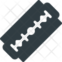 Blade Shave Cut Icon