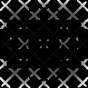 Blade Edge Razor Icon