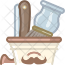 Blade Brush Cup Icon