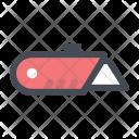 Blade Construction Cut Icon