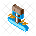 Blade Hole Drilling Icon