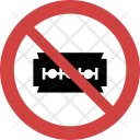 Blade not allowed Icon
