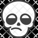 Blah Skeleton Halloween Icon