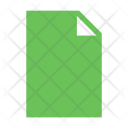 Blank Data Document Icon