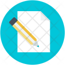 Blank Paper Compose Icon