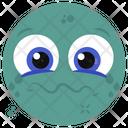 Blank Face Emoji Emoticon Emotion Icon