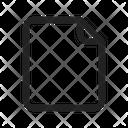 Draft File Document Icon