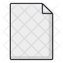 Blank File Blank Document Blank Paper Icon