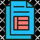 Blank Invoice Invoice Bill Invoice Sheet Icon