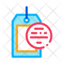 Label Blank Abstract Icon