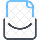 Blank Mail Email Icon