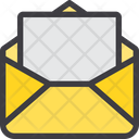 Mail Write Paper Icon