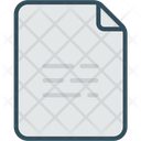 Blank Page Paper Document Icon