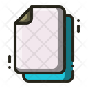 Blank Paper Paper Sheet Icon