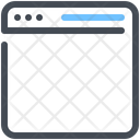 Blank Page Browser Icon
