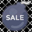 Sale Bomb Blast Sale Big Sale Icon