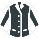 Blazer Dress Jacket Icon