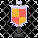 Battle Flag Blazon Coat Of Arms Icon