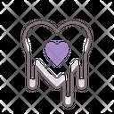 Bleeding Heartbleeding Heart Crazy Love Dripping Heart Icon