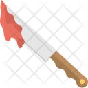 Bloody Knife Butcher Icon