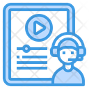 Blended Learning Learning Elearning Icon