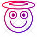 Blessed Angel Emoticon Icon