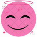 Blessed Emoji Emoticon Emotion Icon