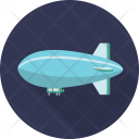 Blimp Air Balloon Icon