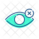 Blind Eye Vision Icon