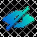 Blind Eye Password Show Password Icon