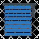 Blind Curtain Icon