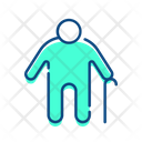 Blind man Icon