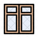 Blinds Plantation Shutter Icon