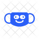 Blissful Mask Virus Icon