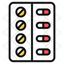 Blister Capsules Drugs Icon