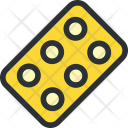 Blister Pack Pills Icon